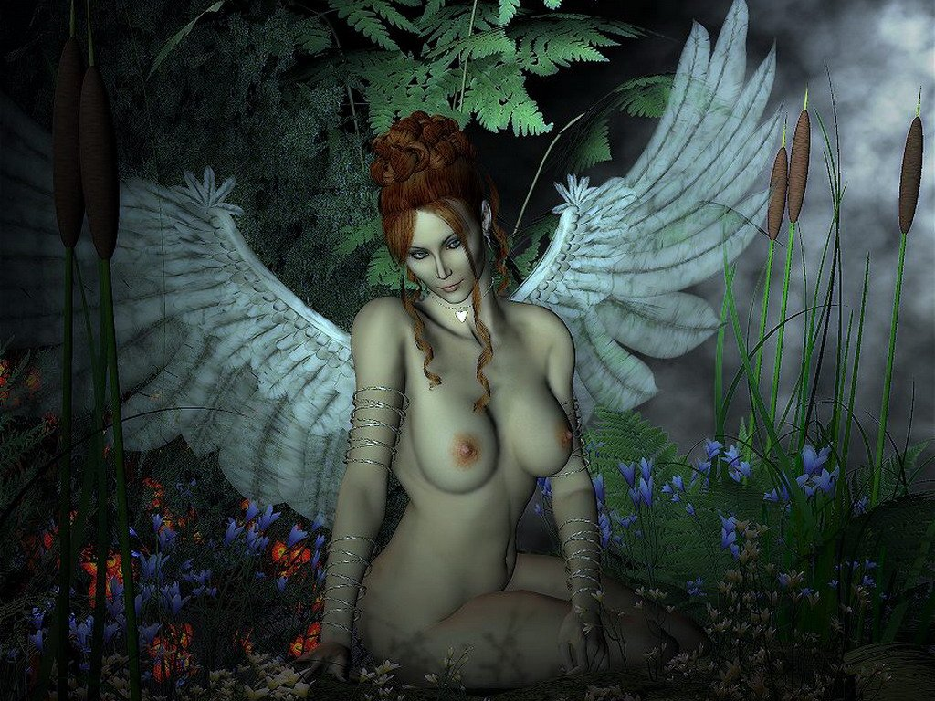 l ange nue
