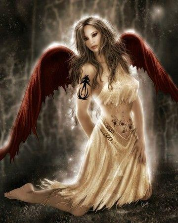 l ange rouge